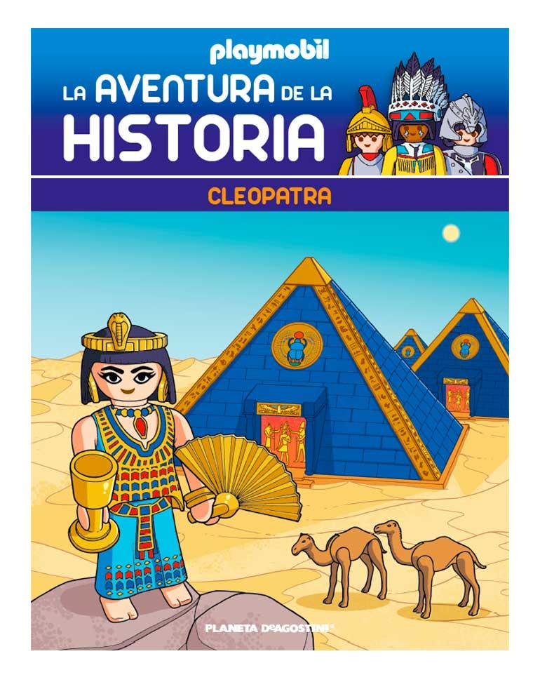 Entrega 62: La última reina de Egipto + 2 fichas + Figura