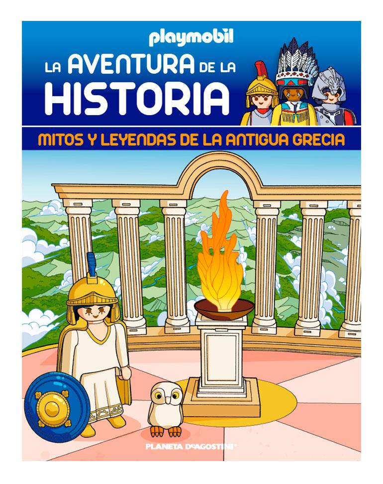 Entrega 67: Mitos y leyendas de la antigua Grecia + 2 fichas + Figura