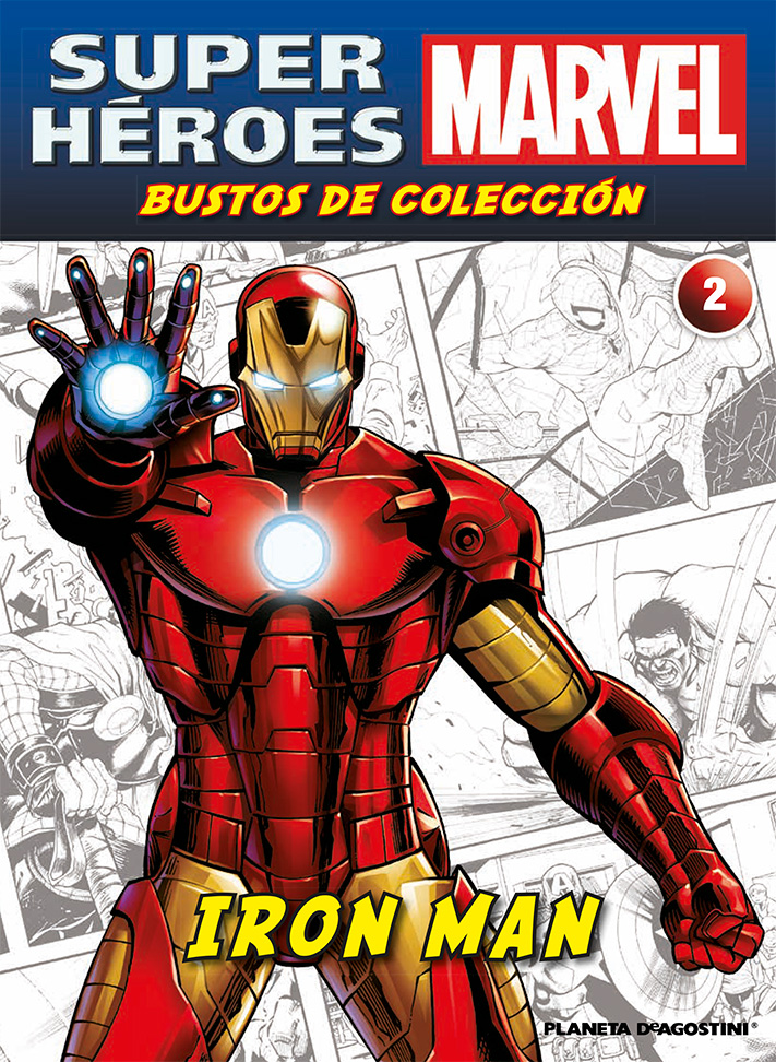 Fascículo 2 + IRON MAN