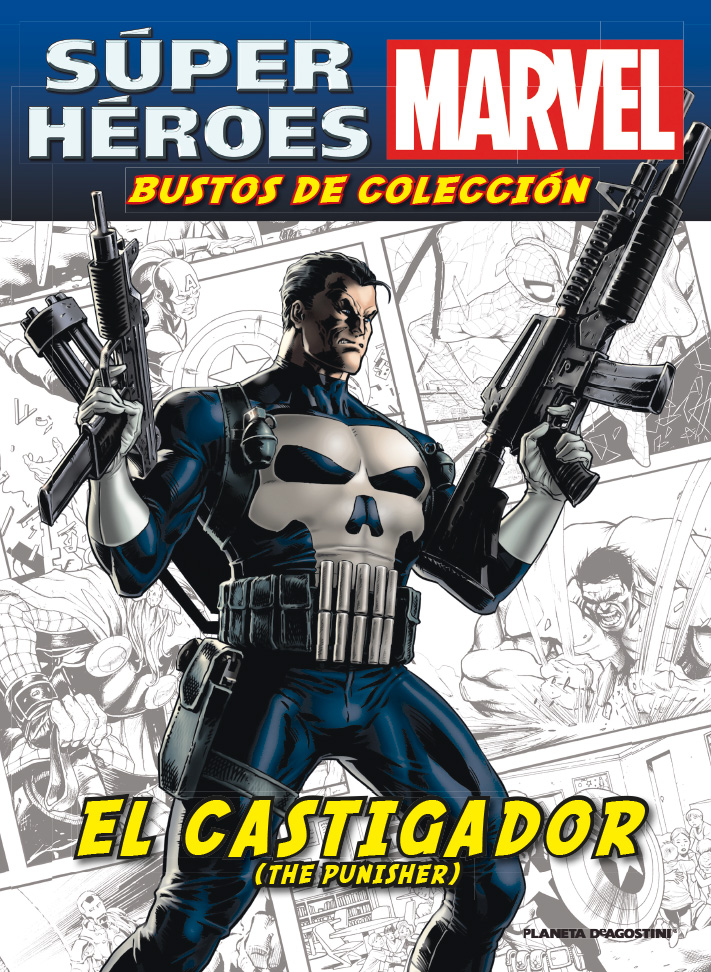 Fascículo 24 + EL CASTIGADOR (THE PUNISHER)