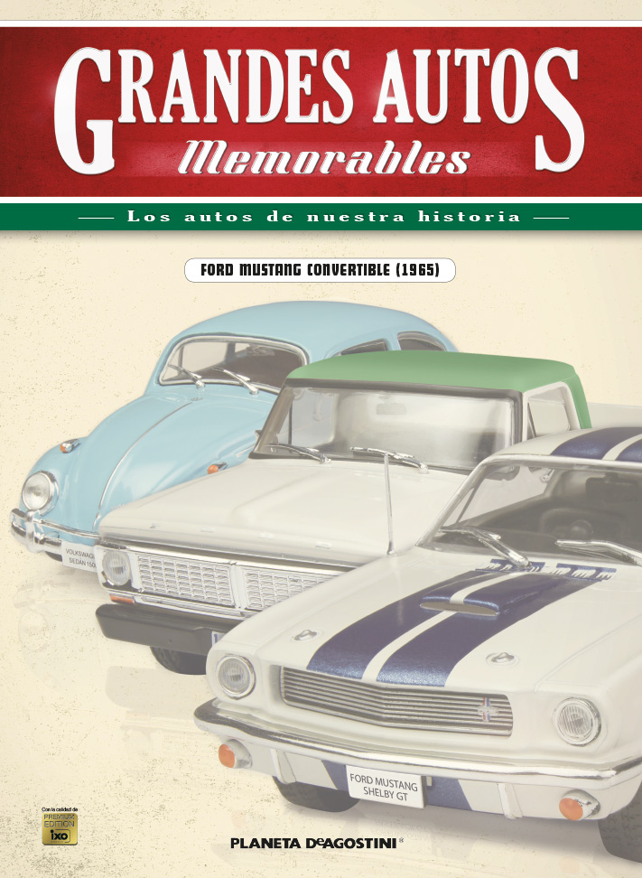 FORD MUSTANG CONVERTIBLE (1965) + Fascículo 12