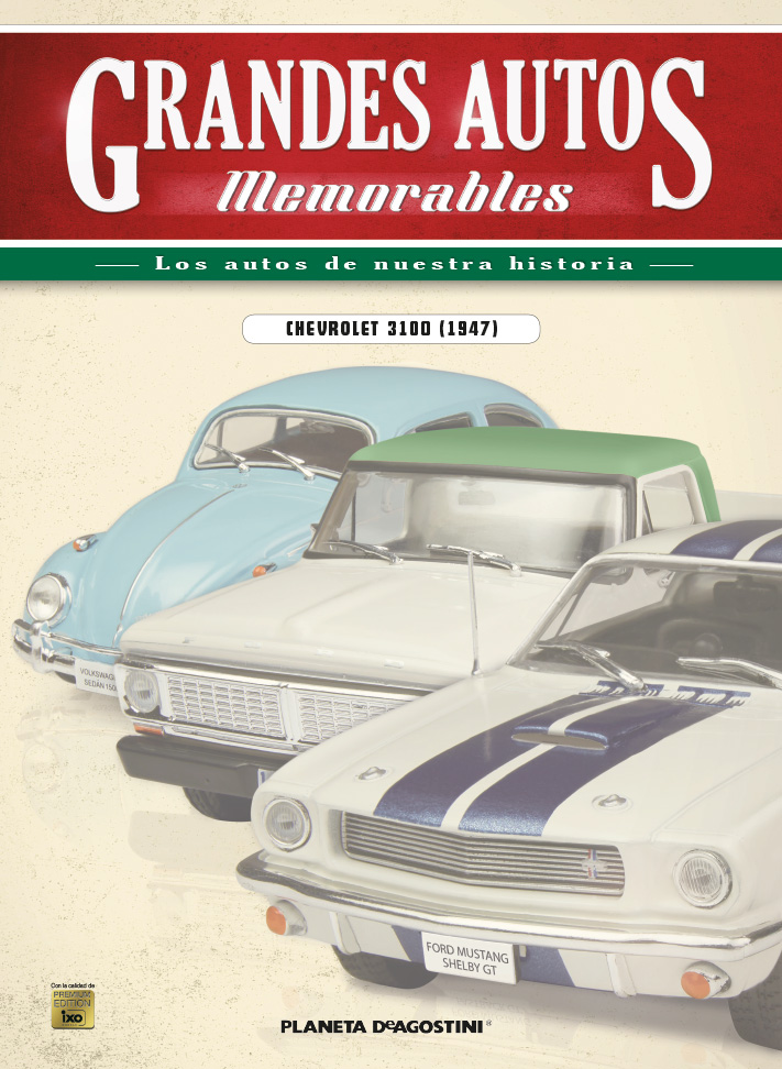 CHEVROLET 3100 (1958) + Fascículo 17