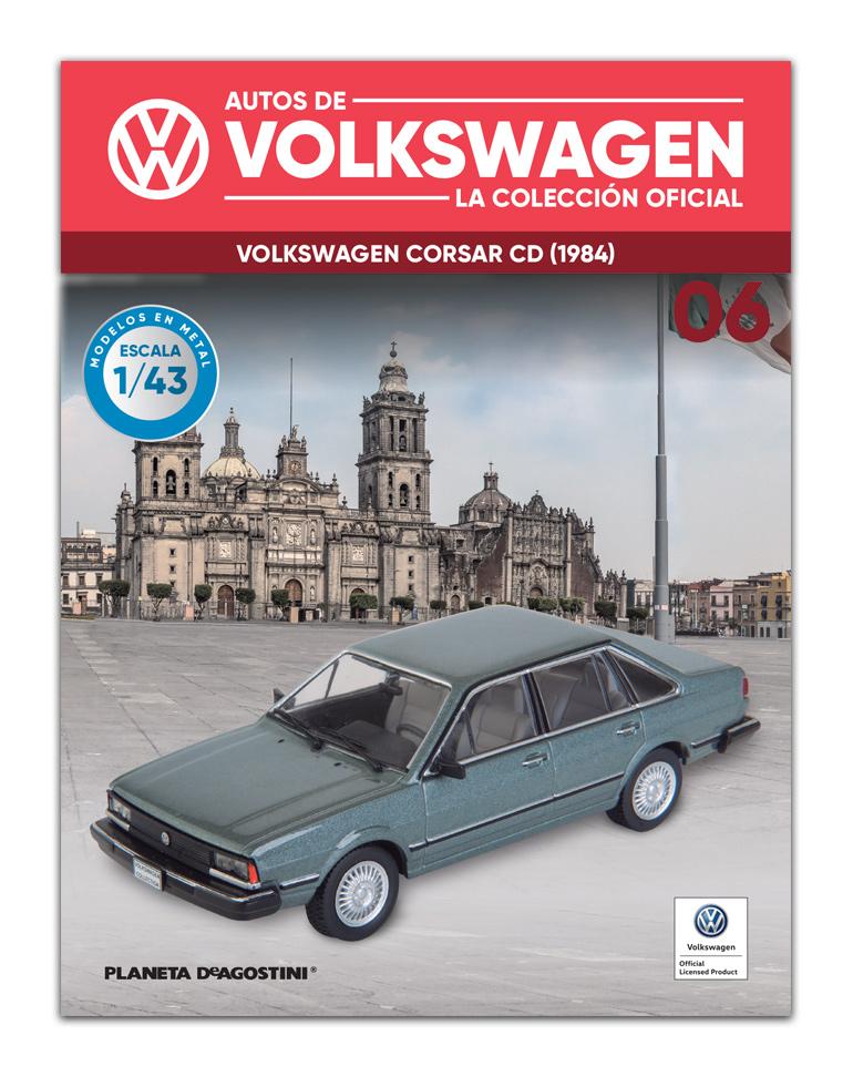Fascículo 6 + VOLKSWAGEN CORSAR CD (1984)