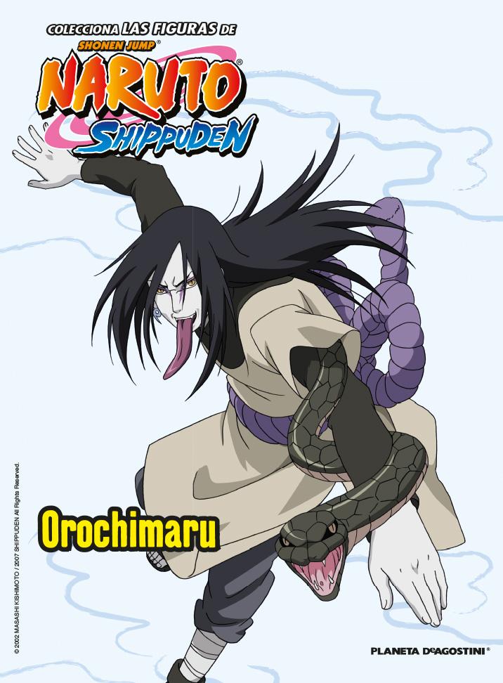 Fascículo 5 + Orochimaru