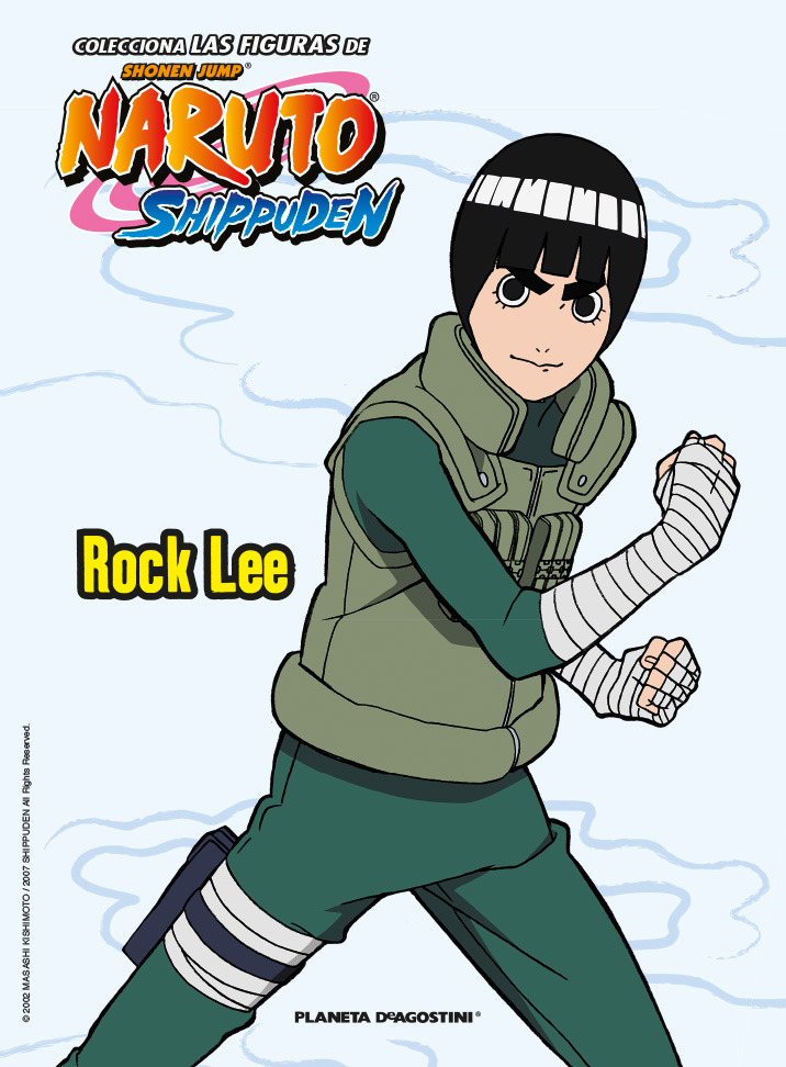 Fascículo 12 + Rock Lee