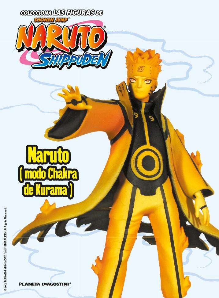 Fascículo 16 + Naruto (modo Chakra de Kurama)