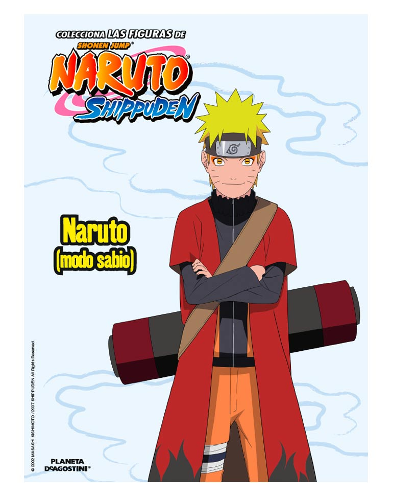 Fascículo 40 + Naruto (modo sabio)