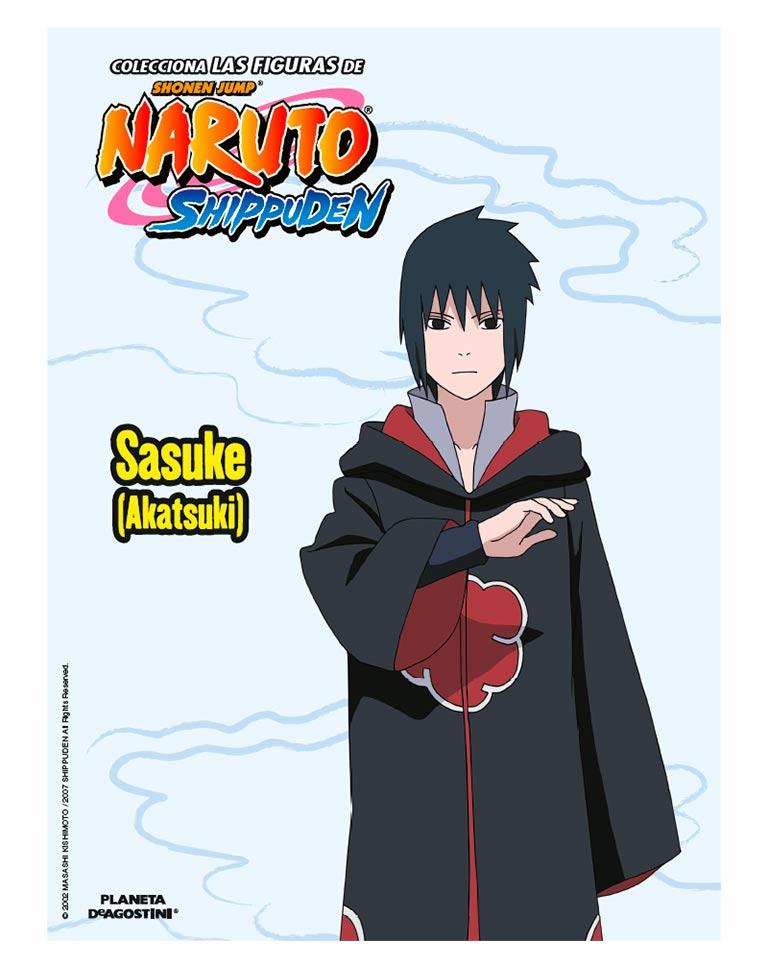 Fascículo 45 + Sasuke