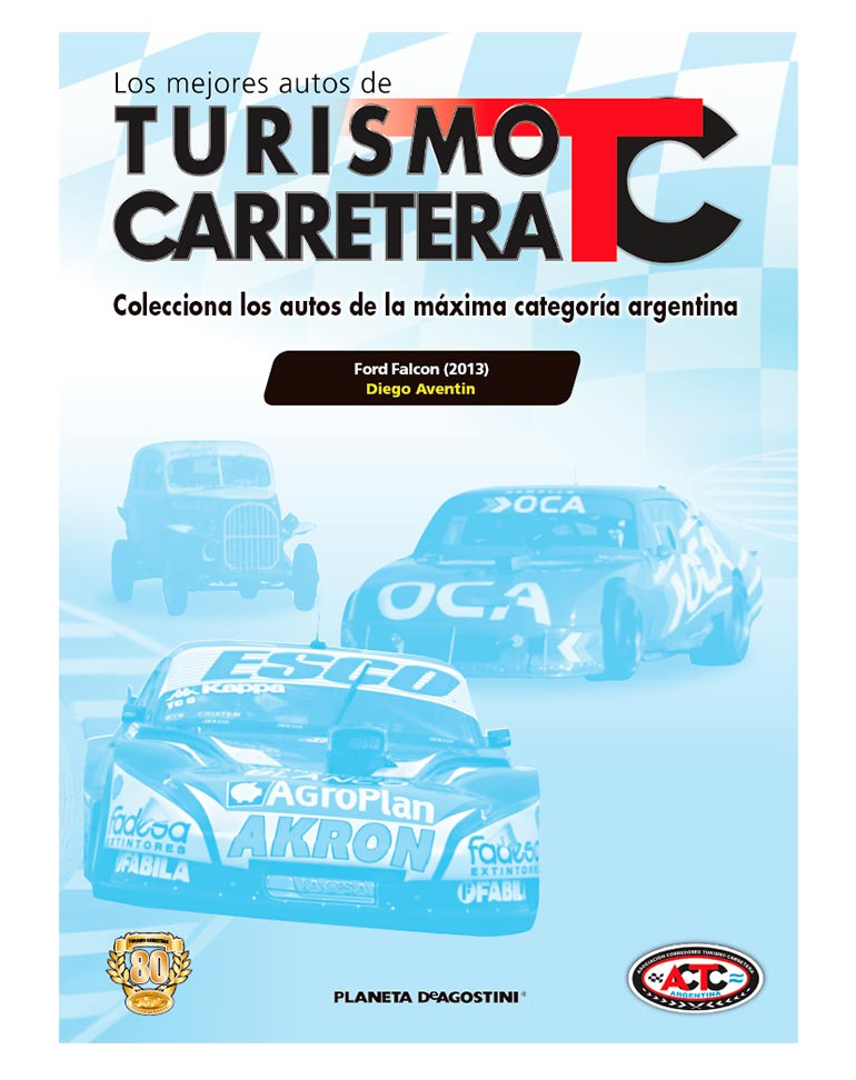 Fascículo nº 27 + Ford Falcon (2013) Diego Aventin