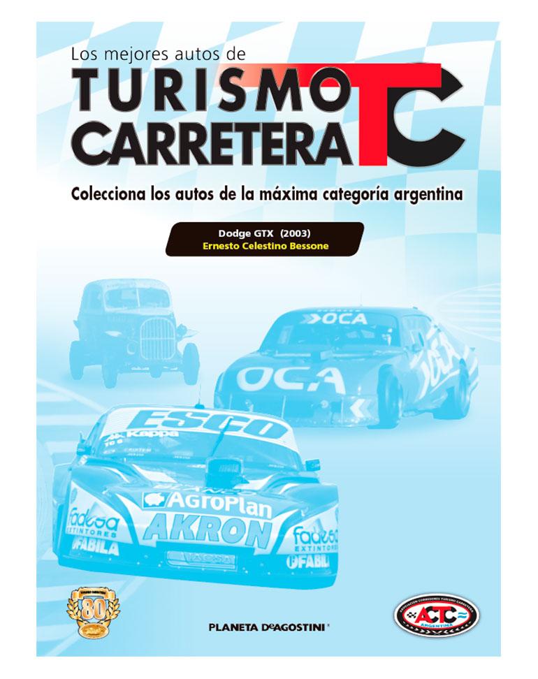 FASCÍCULO Nº 31 + Dodge GTX (2003)Ernesto Celestino Bessone