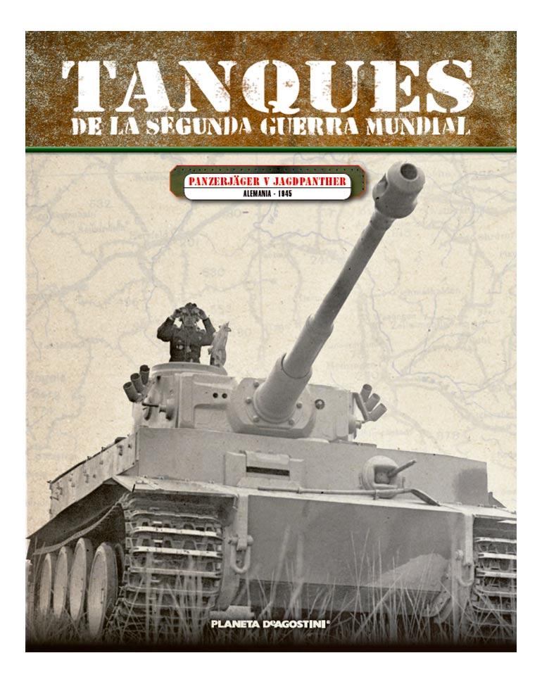 Panzerjäger V JagdpantherALEMANIA - 1945+ FASCÍCULO 30