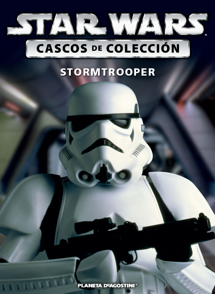 Casco 3: Stormtrooper + Fascículo 3