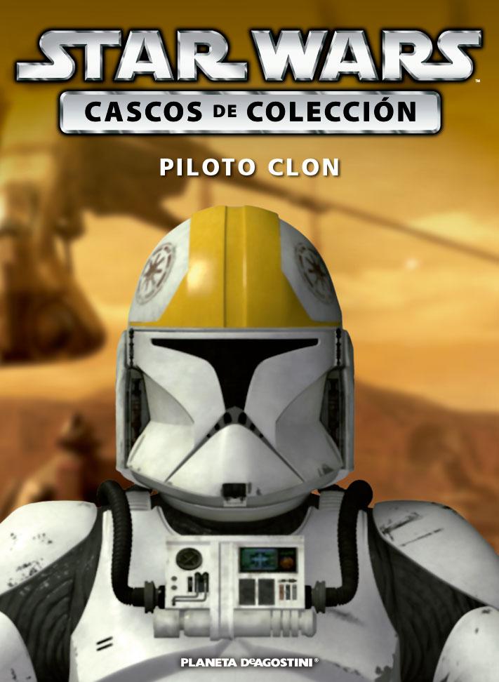 Casco 15: Piloto Clon + Fascículo 15
