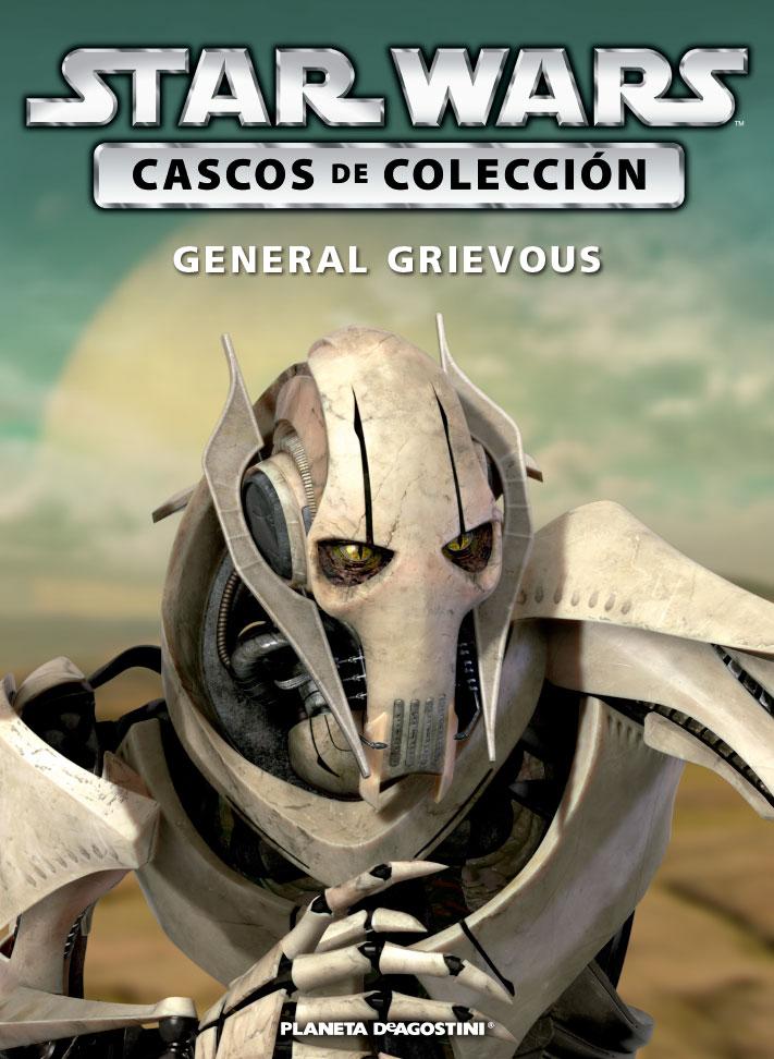 Casco 19: General Grievous + Fascículo 19