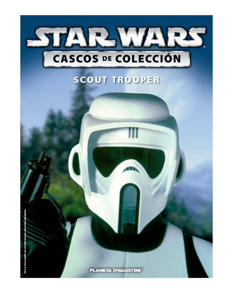 Casco 33: Scout Trooper + Fascículo 33