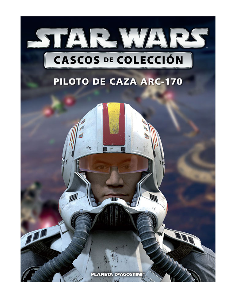 Casco 38: PILOTO DE CAZA ARC-170 + Fascículo 38