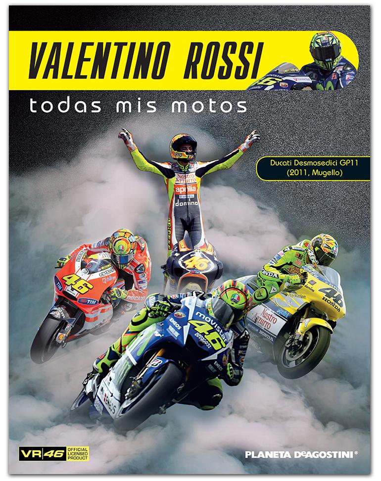 Ducati Desmosedici GP11 - 2011 + Fascículo 4