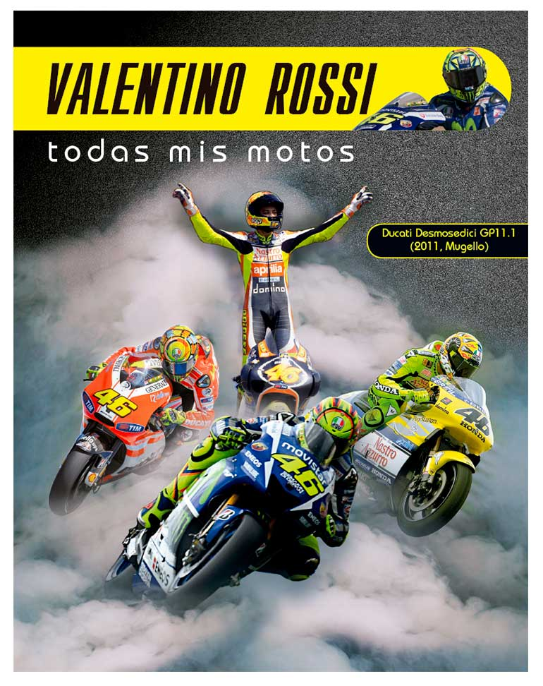 Ducati Desmosedici GP11.1 2011 + Fascículo 22