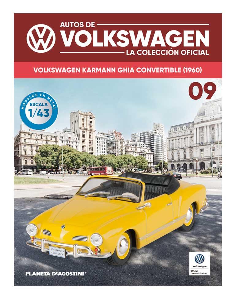 fascículo 9 + volkswagen ghia convertible (1960)