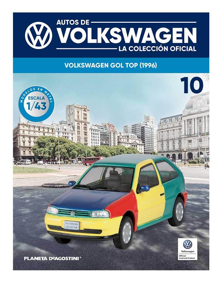 fascículo 10 + volkswagen gol top (1996)