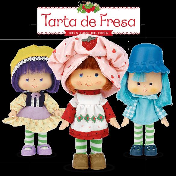 Colección Muñecas Tarta de Fresa